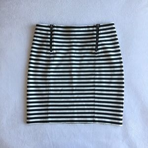 Sunday Best Striped mini skirt